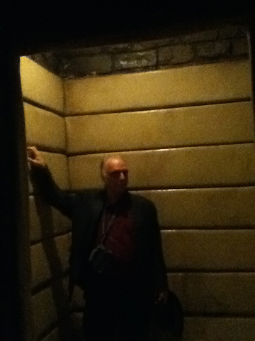 Padded cell from Silence of the Lambs