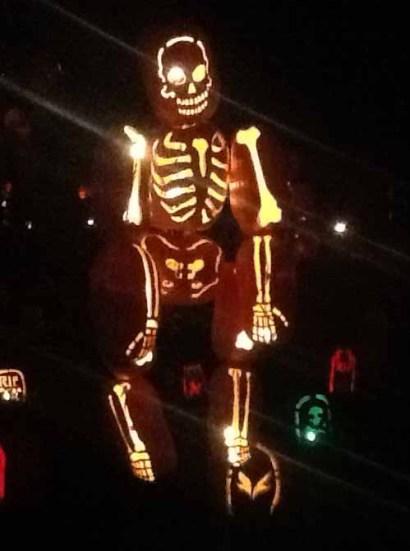 Rise of the Jack O'Lanterns 2014: Skeleton