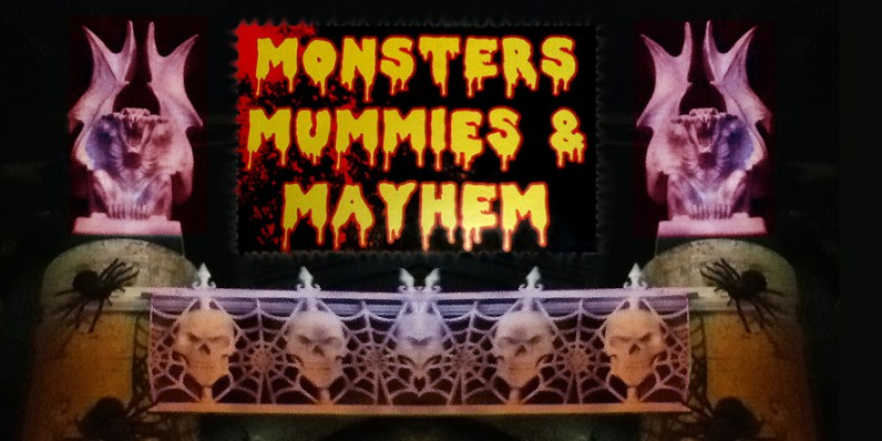 "The Dungeon of Doom is rebranded ""Monsters, Mummies & Mayhem"" for Halloween"