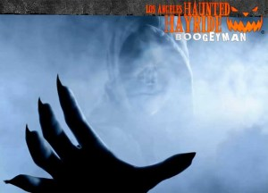los angeles haunted hayride boogeyman logo