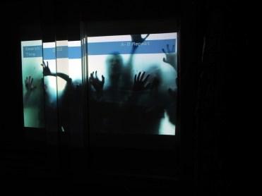 Motel 6 Feet Under blurry window