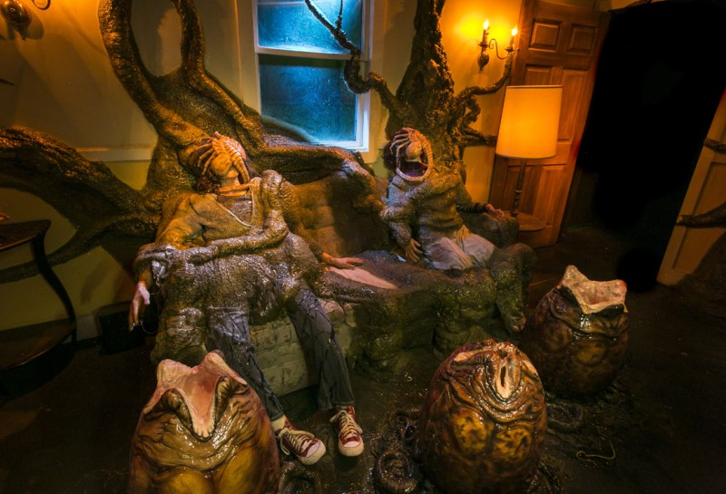 Alien vs Predator egg room