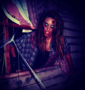 Blackthorne Haunt 2012 Wendigo theme female monster