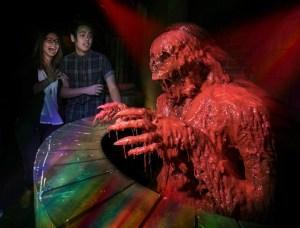 Crimson Peak maze at Halloween Horror Nights 2015. Photo by David Sprague