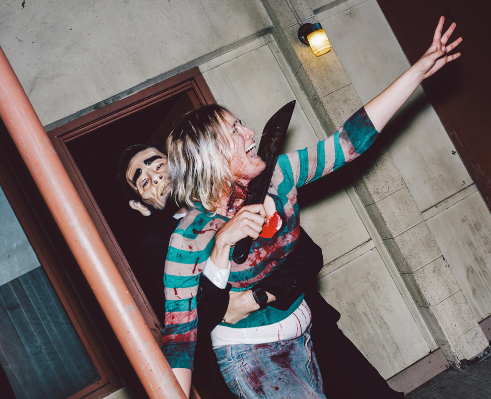Halloween Horror Nights 2015: The Purge. Photo by David Sprague