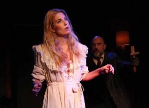 Rachel Zink and David Caprita in Theatre 68's Dracula