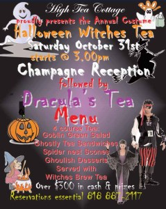 Halloween Witches High Tea