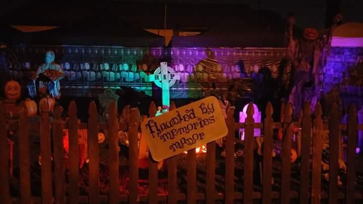 Haunted by Memories Manor Halloween home haunt