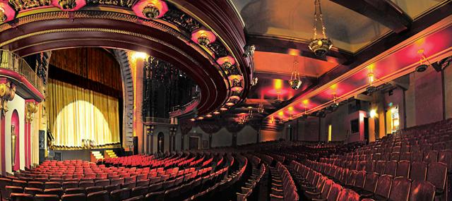 Million Dollar Theatre wide angle horizontal