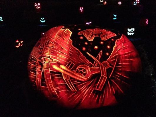 Rise of the Jack O'Lanterns 2015 star wars