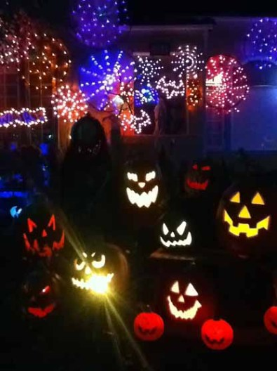 Spider-Lights: Jack O'Lanterns