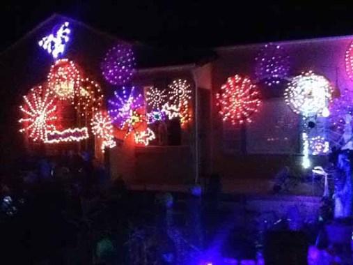 Spider-LIghts at 806 Catalina Street in Burbank.