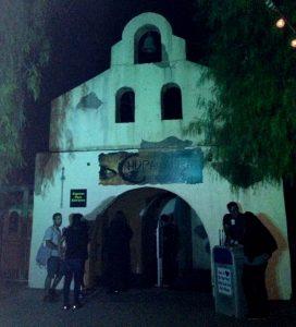 Six Flags Fright Fest Chupacabra entrance