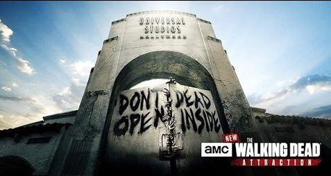 Universal Studios Hollywood Walking Dead Attraction