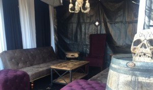 Queen Mary Dark Harbor Creepy Cabana