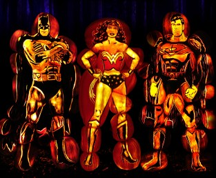 Rise of the Jack O'Lanterns super heroes