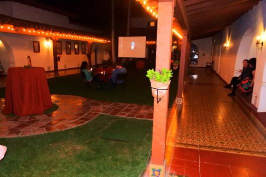 Casa Creepy Haunted House 2016 courtyard