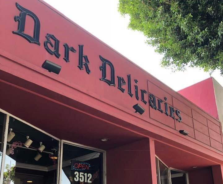 Dark Delicacies bookstore