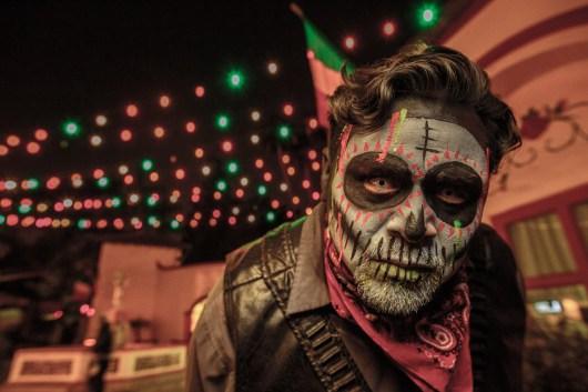 Fiesta De Los Muertos Skull Man