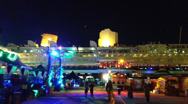 Queen Mary Dark Harbor 2017