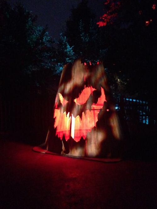Knotts Scary Farm 2017 Jack O'Lantern decoration exterior
