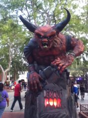 Six Flags Magic Mountain Fright Fest 2017 Demon's Door