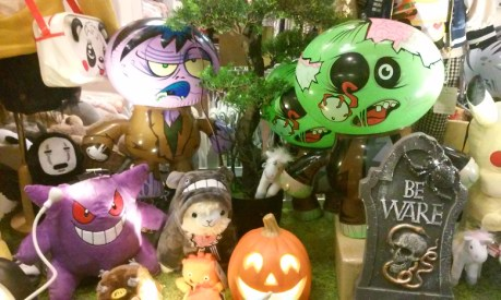Haunted Little Tokyo 2017 window display