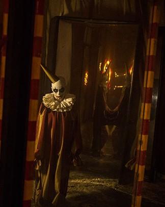 ESCAPE Psycho Circus 2016 clown