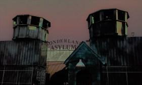 Escape Psycho Circus Asylum sign 2