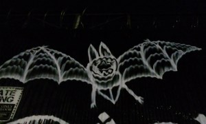 Fox Horror Rewind 2017 Review Bat graffiti