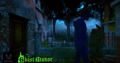 Castle Dark 2017: Ghost Manor Modal screenshot