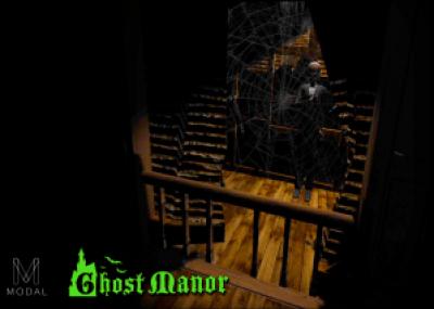 Castle Dark 2017 Ghost Manor Spiderweb