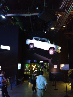 Warner Brothers Studio Tour special effects display