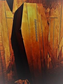 Los Angeles Haunted Hayride 2017 coffin