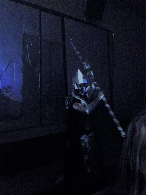 Los Angeles Haunted Hayride 2017 metal mask monster