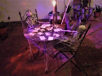 Rosehill Haunt 2017 skeleton card game