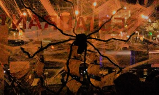 Santa Monica Zombie Crawl spider