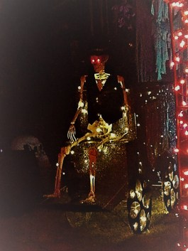 Spooky Saloma 2017 skeleton