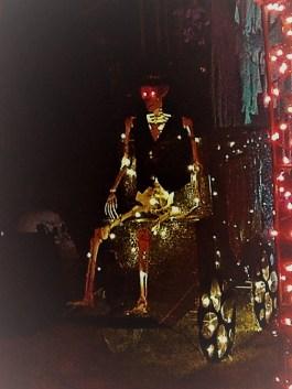 Spooky Saloma 2017 skeleton