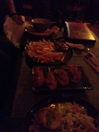 West Hollywood Haunted Pub Crawl: Trocadero Lounge food