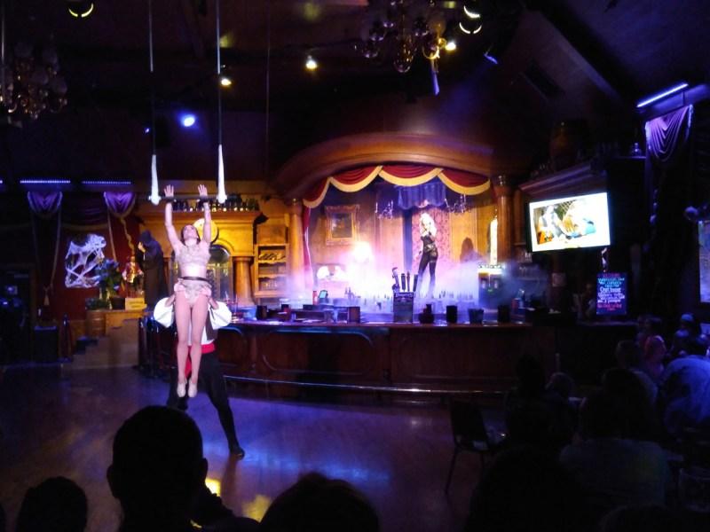 Vampirates 2017 pre-show gypsy girl