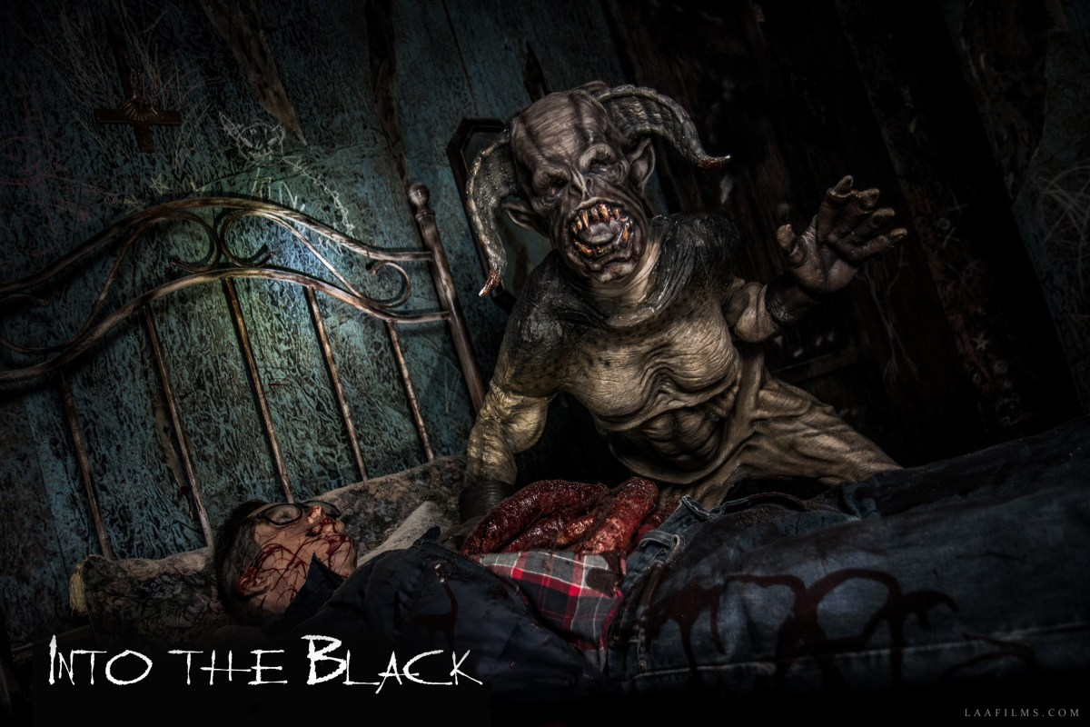 Into the Black Review: L.A.'s newest Halloween Haunt is also its scariest