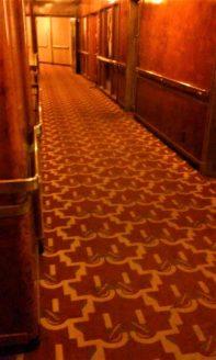 Queen Mary Ghosts & Legends hallway