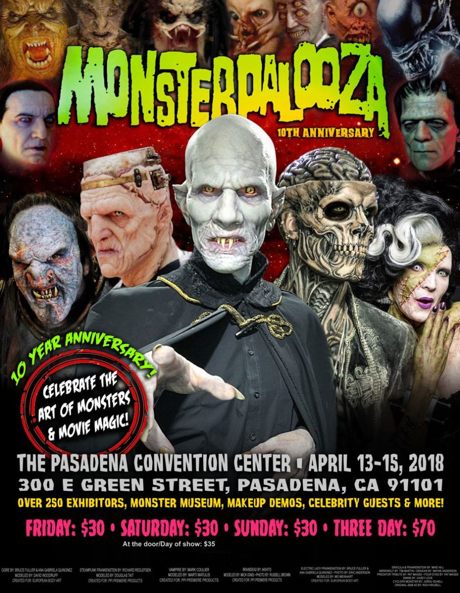 Monsterpalooza 10th Anniversay at Pasadena Convention Center