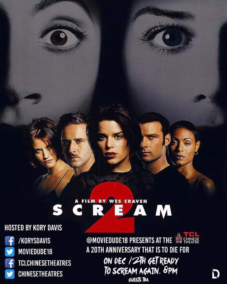 'Scream 2' 20th Anniversay Screening at TLC Chinese Theatres