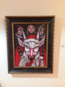"""""""Krampus Carrying Crybabies"""" by Chris LoWail"""