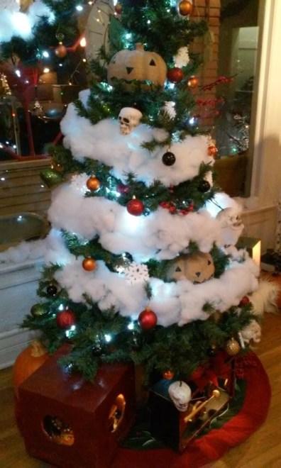 Dysfunctional Christmas Tree close shot