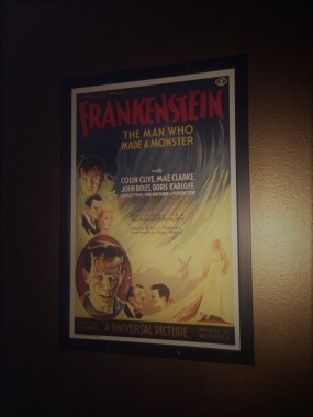 Frankenstein (1931) poster at Phantom Carriage Brewery