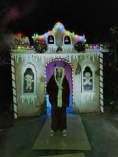 Gingerdead Krampus house long shot