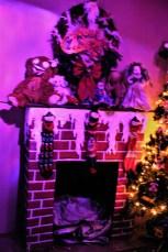Gingerdead fireplace